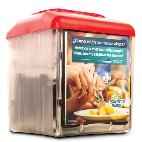Kimberly-Clark Dispensador de servilletas rojo