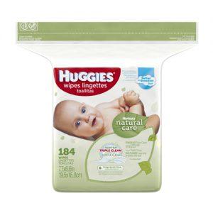 Huggies Wipes Lingettes x184