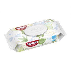 Huggies Wipes Lingettes x56