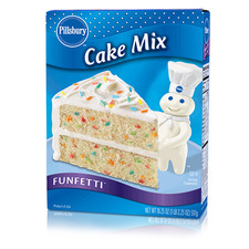 Pillsburry Cake Mix Funfetti