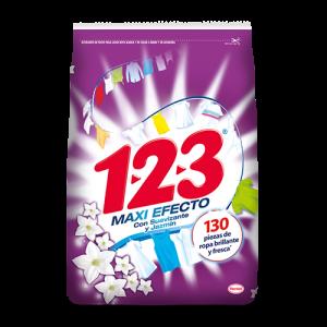 123 Maxi Efecto Con Suavizante 1000 G