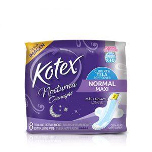 Kotex Nocturna Normal Maxi 8