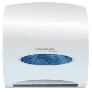 Kimberly-Clark Dispensador de toallas azul grande